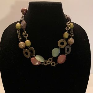 Jewelry - Circles & Beads Long Necklace Size 32""